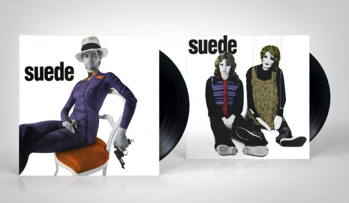 "Suede: The Drowners and Metal Mickey 12"" singles, Nude Records"