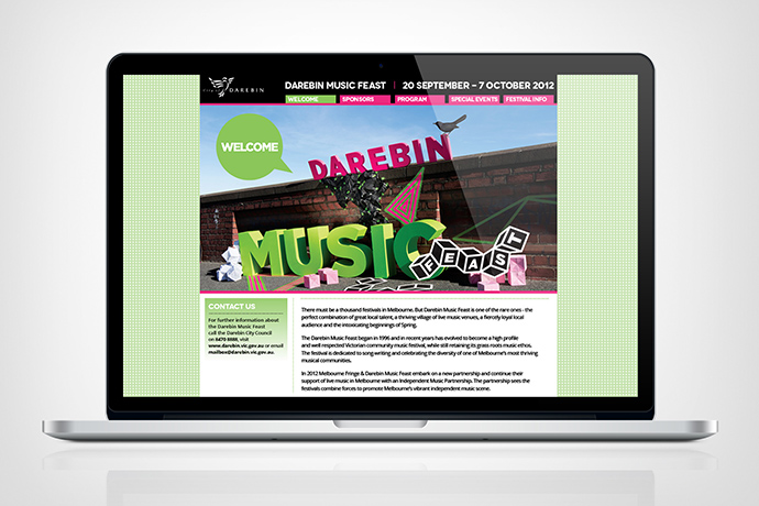 Darebin Music Feast 2012  •  Council Music Festival