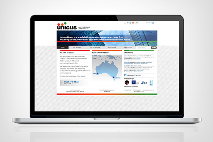 Unicus  •  Investor Relations firm