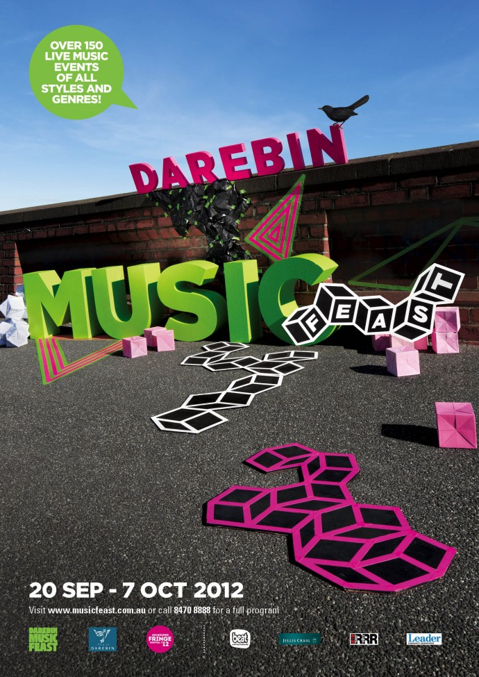 Darebin Music Feast 2016  (Photography by Sonia Mangiapane, Installation by Lisa Frankland)